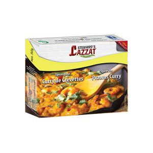 Steward's Lazzat – Prawns Curry